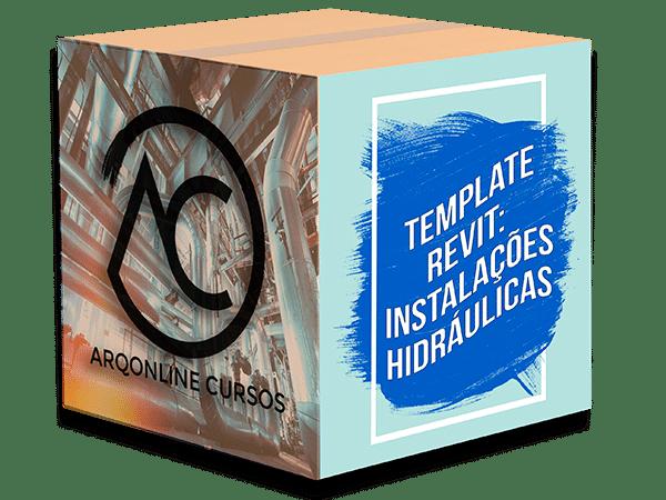 box biblioteca template revit hidráulica