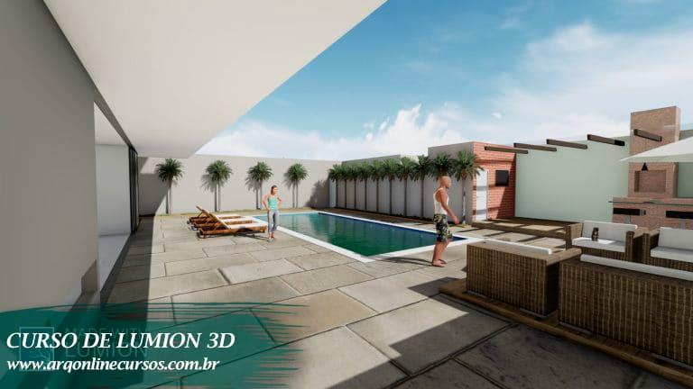 curso de lumion 3d para arquitetura