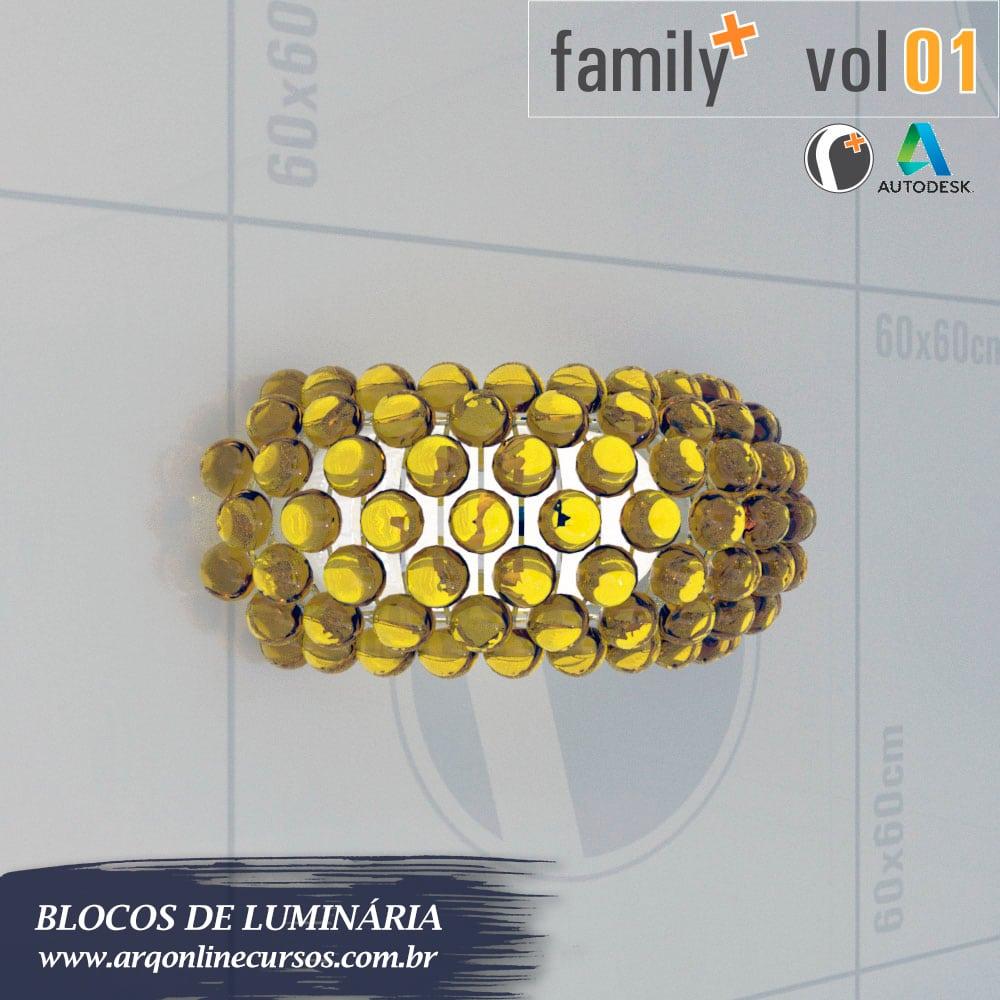 biblioteca de blocos de luminária para revit discoteca
