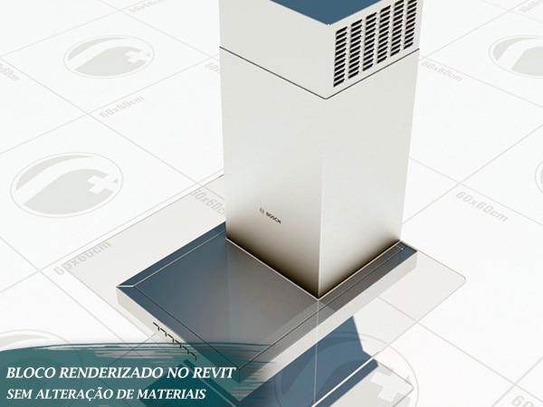 coifa brastemp renderizada revit