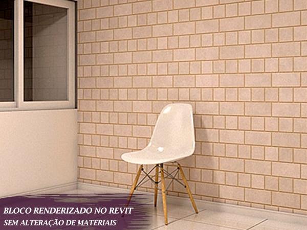 bloco cadeira estilo retro para revit