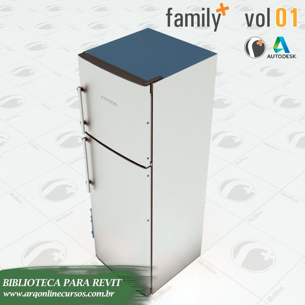 geladeira renderizada autodesk revit