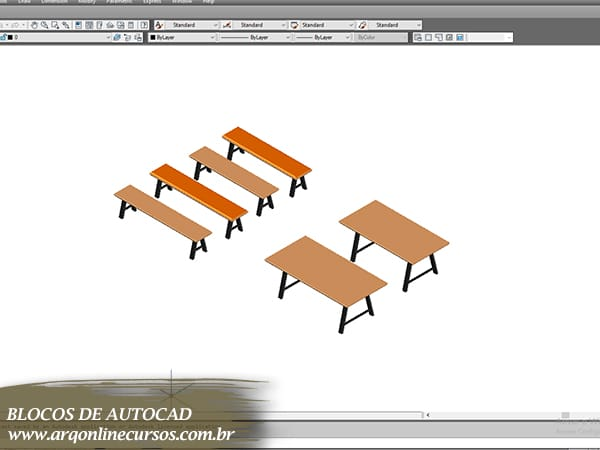 blocos de autocad cadeiras madeira