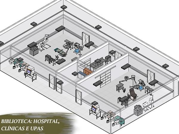 blocos de hospital para revit gratuito