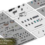 blocos de hospital para revit parametrizadas