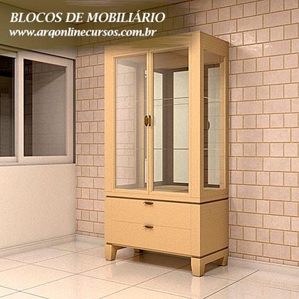 blocos de mobiliário para revit objeto armário