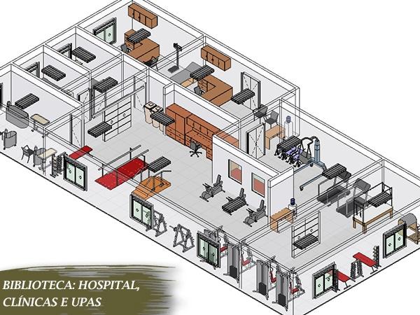 blocos hospitalares para revit centro cirurgia