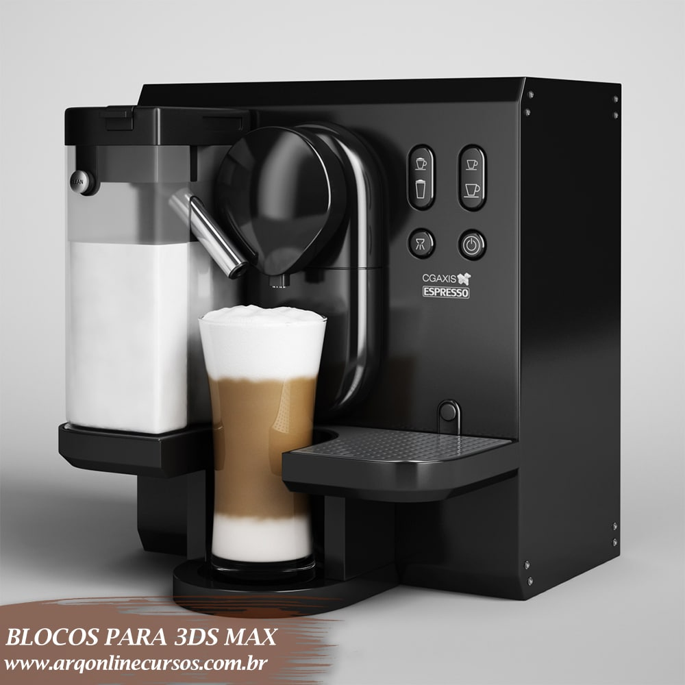 blocos para 3ds max café expresso
