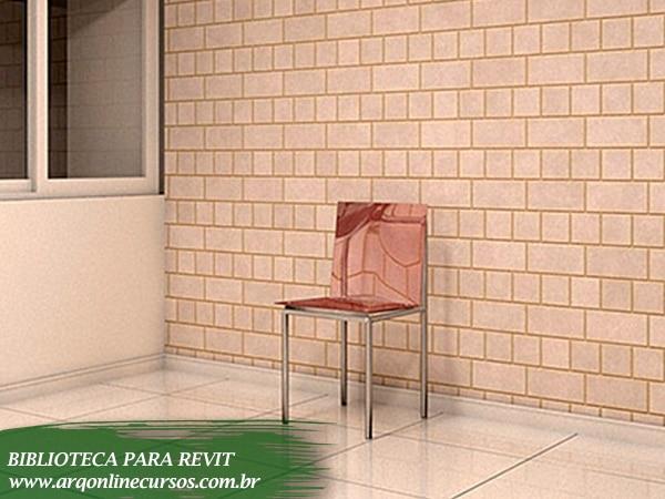 cadeira decoração sala revit