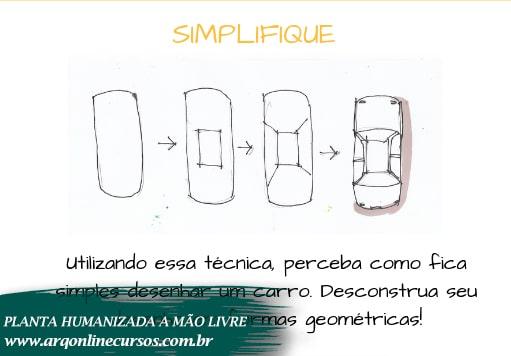 curso de desenho a mão livre simplifique