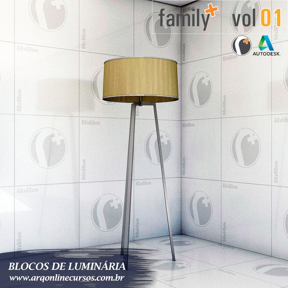famílias de luminária para revit apagada
