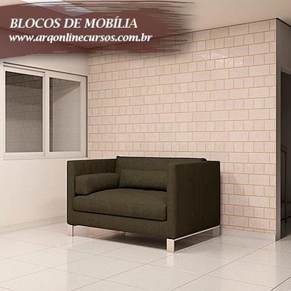 famílias de mobília moderna verde