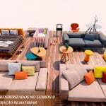 galeria projeto exportado revit para lumion