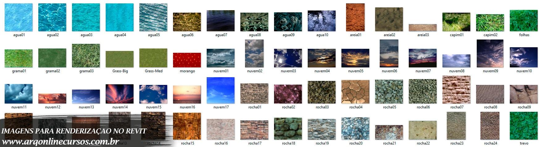 imagens para renderização no revit pasta água