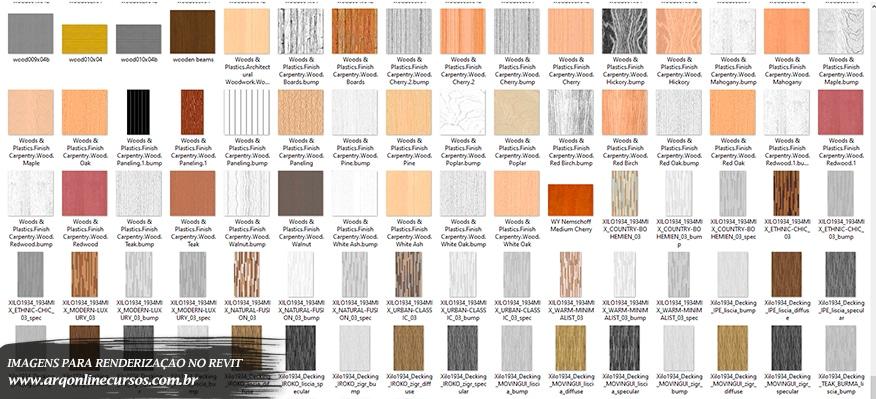 imagens para renderização no revit render madeira