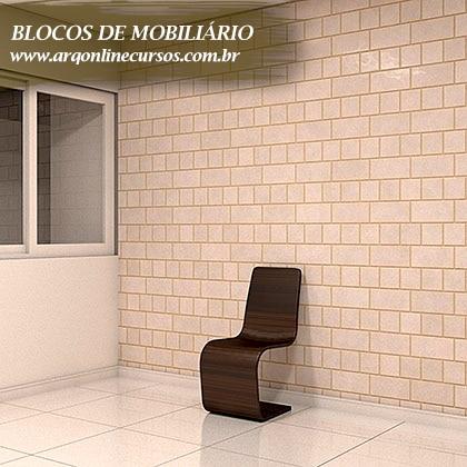 pacote de blocos de mobiliário para revit marrom