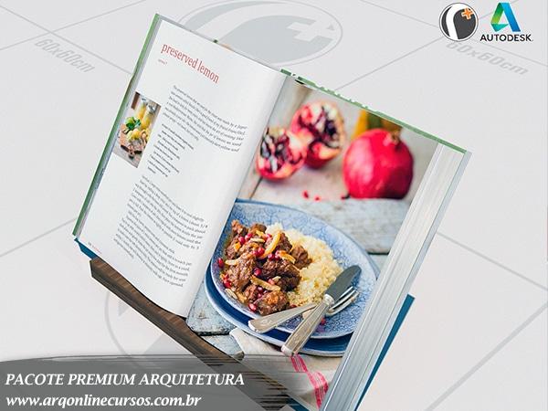 pacote formação de arquitetura livro de receita revit