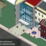 projeto modelado escolas