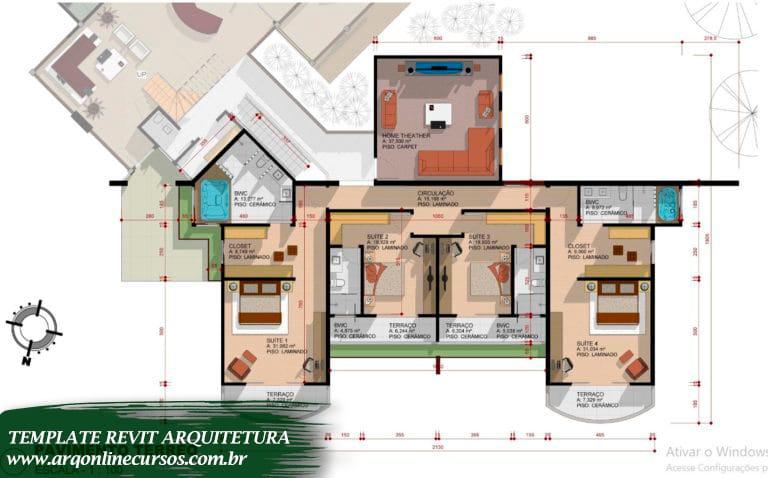 template revit soluções em arquitetura arquivo revit