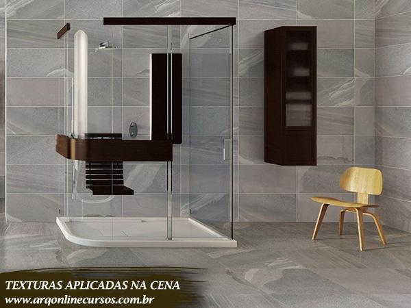 textura banheiro