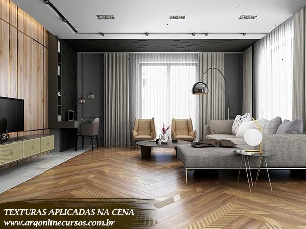 textura quarto madeira detalhes