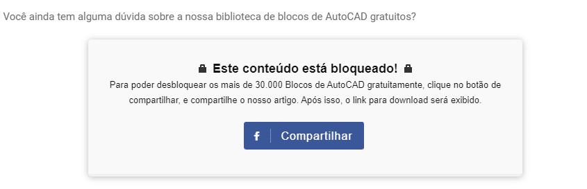 Blocos de AutoCAD gratuitos guia para download