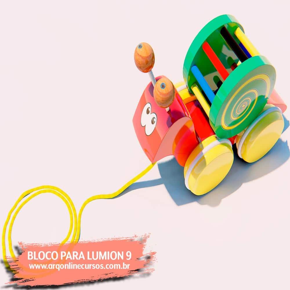 blocos de lumion brinquedo criança