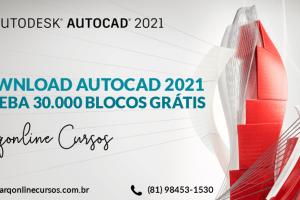 Baixar AutoCAD 2021 Gratuitamente logo
