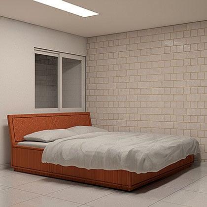 download famílias de cama para revit rte