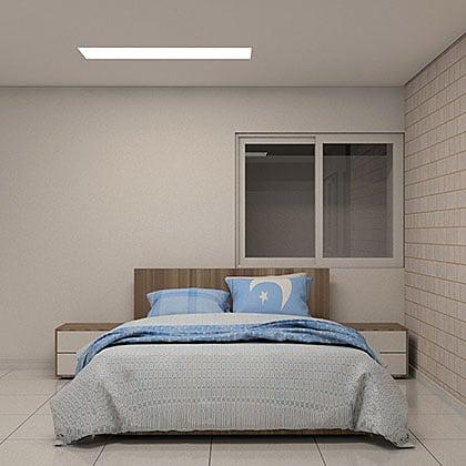 famílias de cama para revit casal azul final
