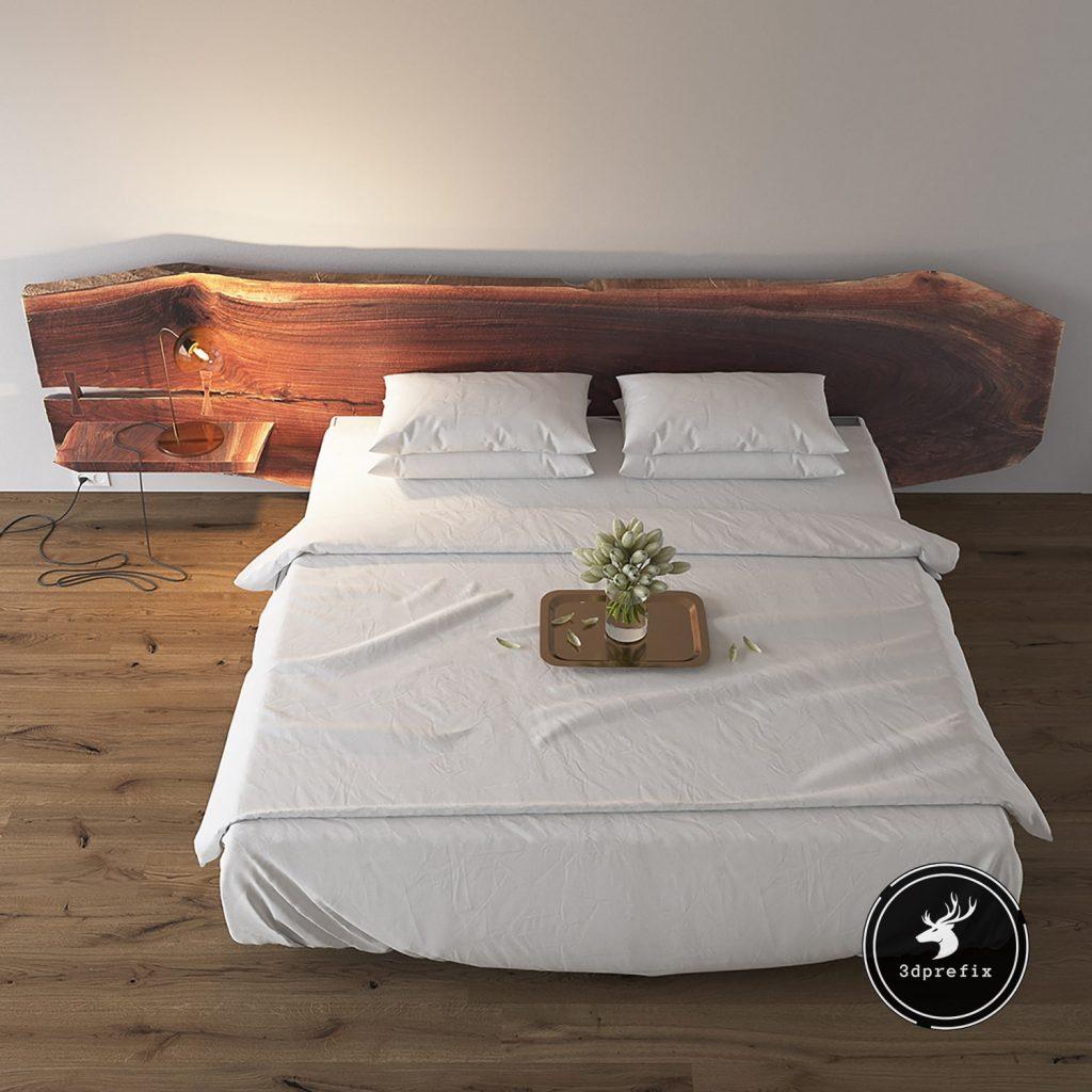 20 blocos de cama sketchup detalhe madeira